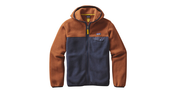 Patagonia Lightweight Synch Snap-T Hoody Boys Smolder Blue
